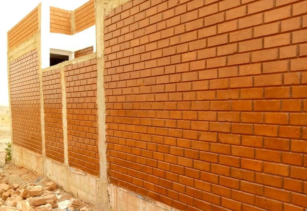 construction en briques de terre crue