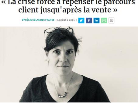 """""""La crise force à repenser le parcours client jusqu'après la vente"""""""