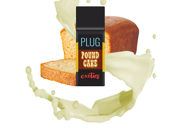 PLUG AND PLAY  VAPE CARTRIDGE  POUND CAKE