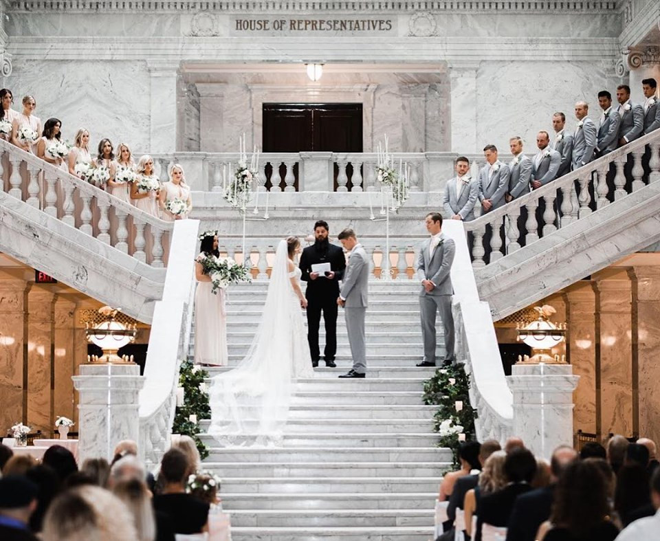 Utah State Capitol Rotunda| Contact Wedding Steet for our All Inclusive Package