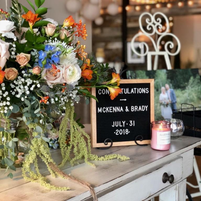 Cottage Charm Venue Wedding Street Utah