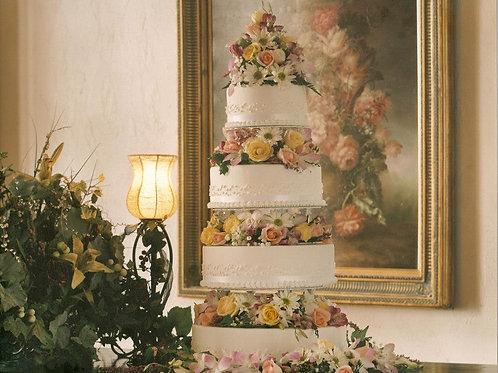 4 Tier Buttercream Cake
