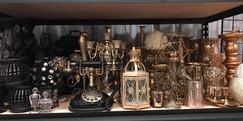 Various Antique Centerpiece items