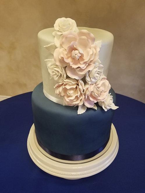 2 Tier Fondant Cakes
