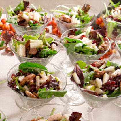 Pomegranate Pecan Salad