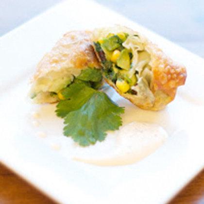 Southwest Avocado Egg Rolls