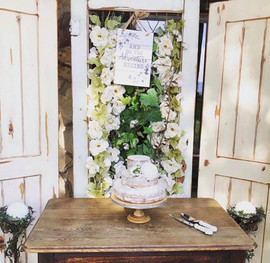 Shabby Chic Whitewashed Doors Wedding De