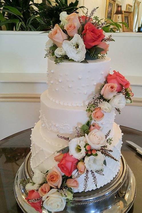 3-Tier Buttercream Cakes