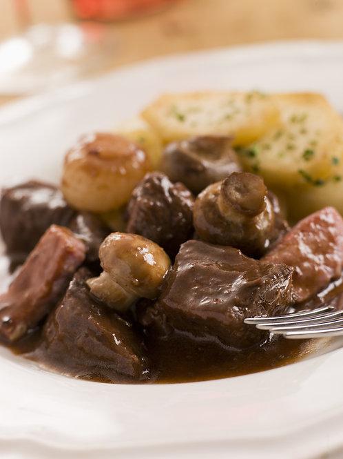 Beef Bourguignon Dinner Buffet