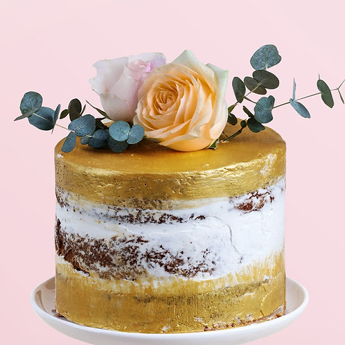 1-Tier Semi or Naked Cakes