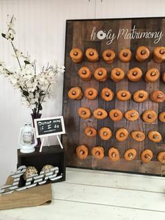 Donut Wall Rental