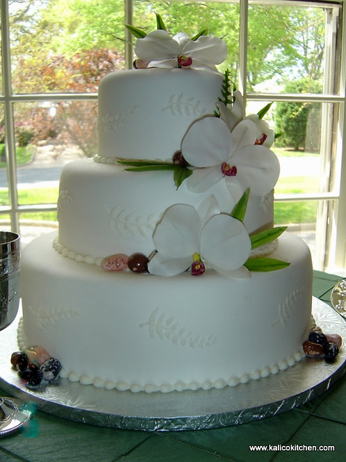 3-Tier Fondant Cake