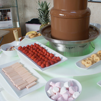 "Large 34"" Chocolate Fountain"