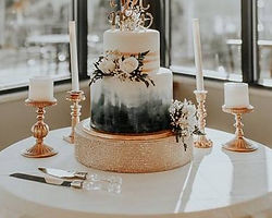 two tier cake in blue and gold.jpg