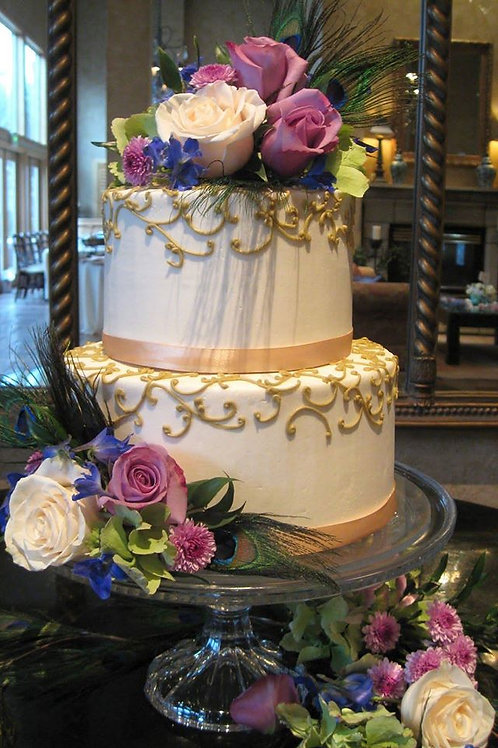 2-Tier Buttercream Cakes