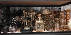 Various Antique Centerpiece Items for Re