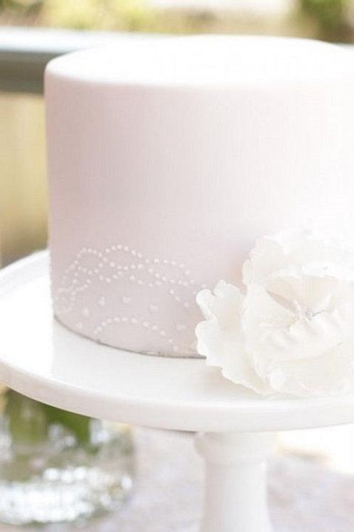 1-Tier Fondant Cakes