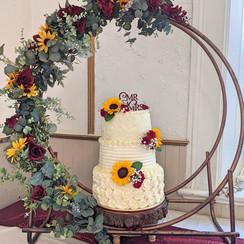 Wedding Cake Medal Ring