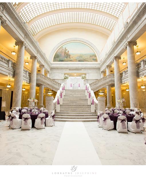 Utah State Capitol Wedding Venues