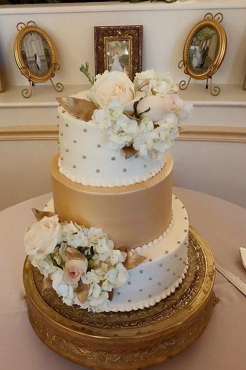3-Tier Fondant Cakes