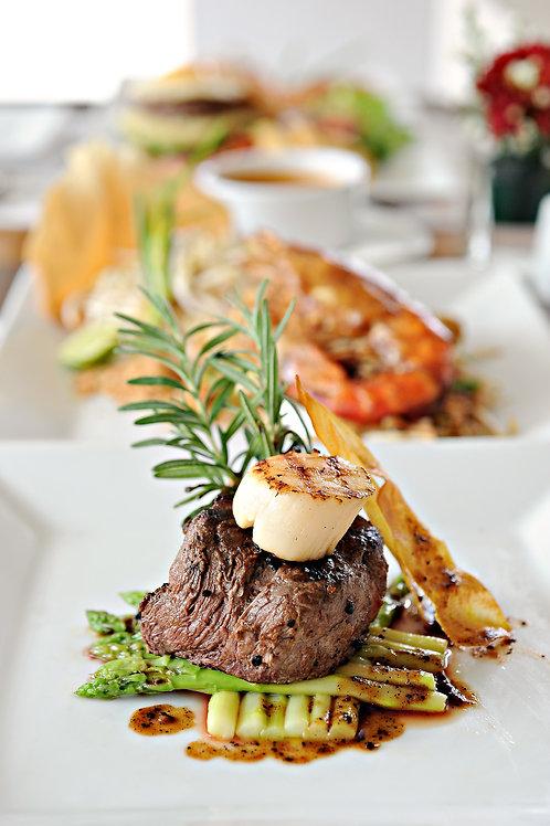 Beef Tenderloin Medallions Dinner Buffet