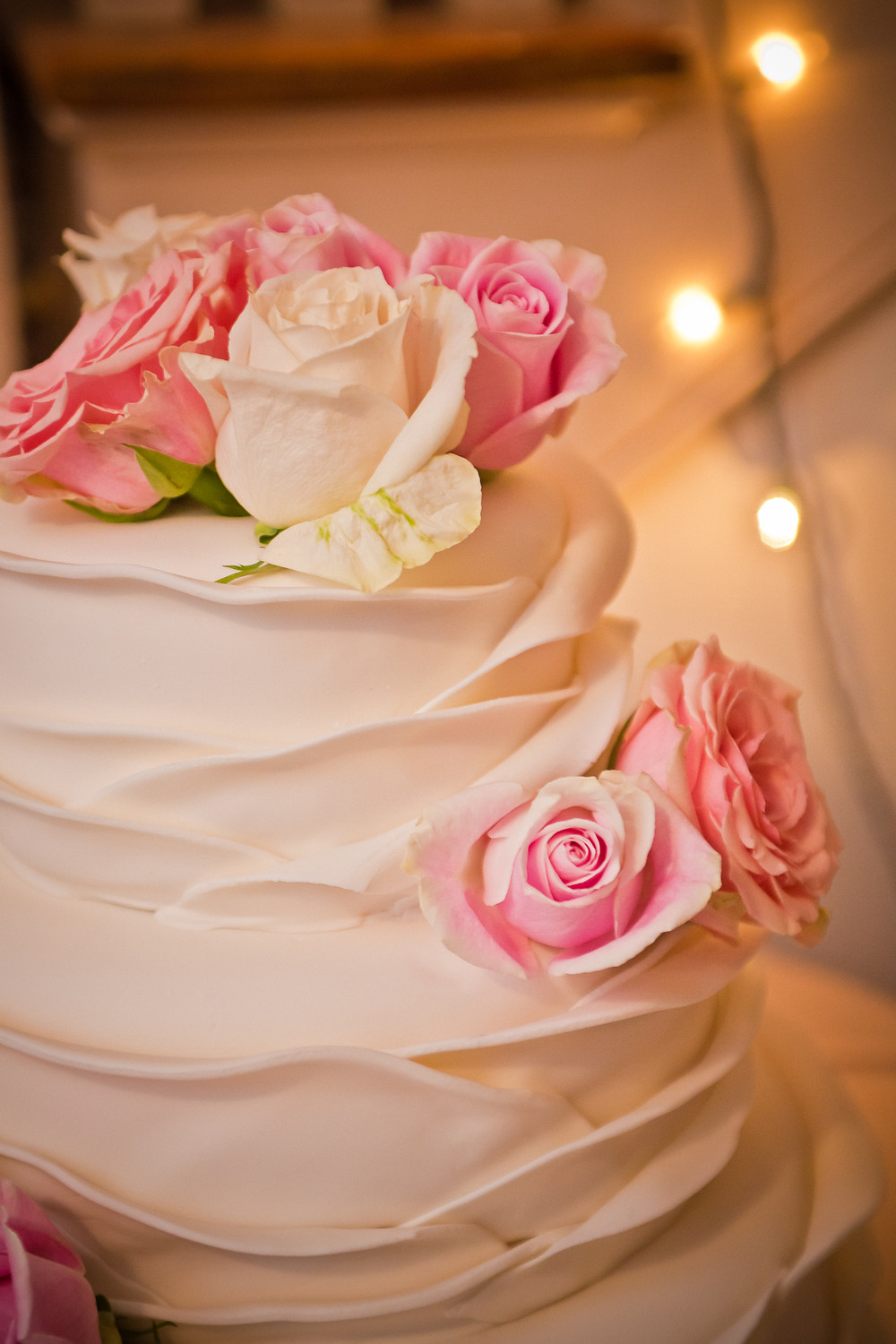 wedding street utah affordable ruffled fondant cake This is the Place atkin home