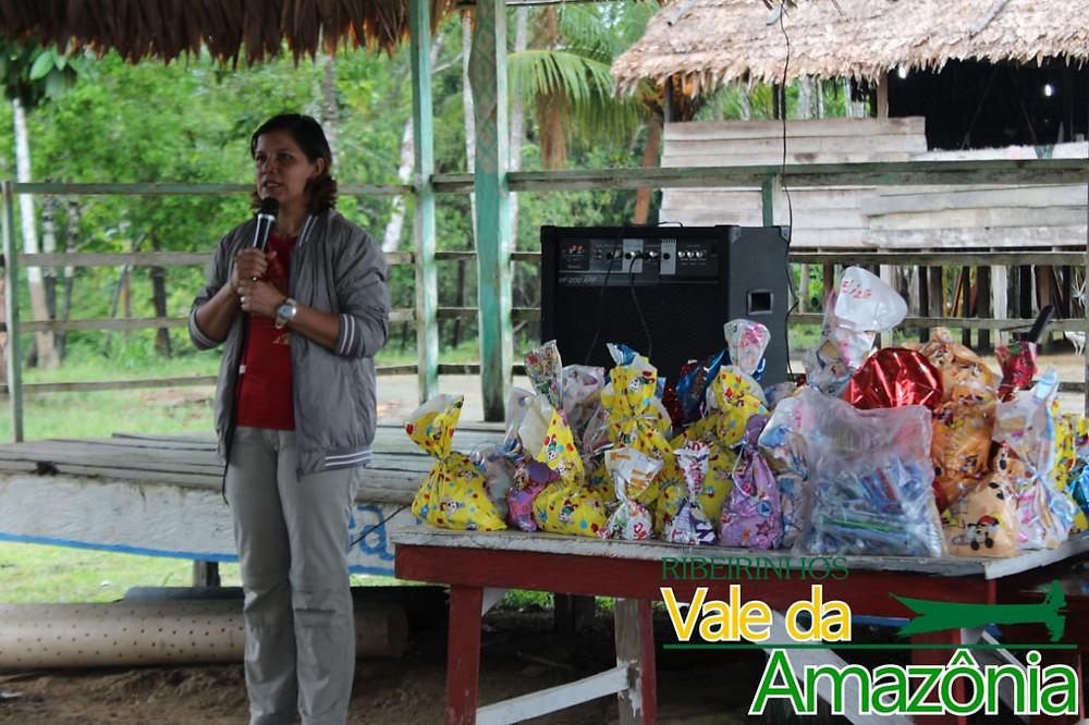 Viagem às comunidades indígenas Ticunas, em julho de 2018, onde foram feitos diversos trabalhos sociais.