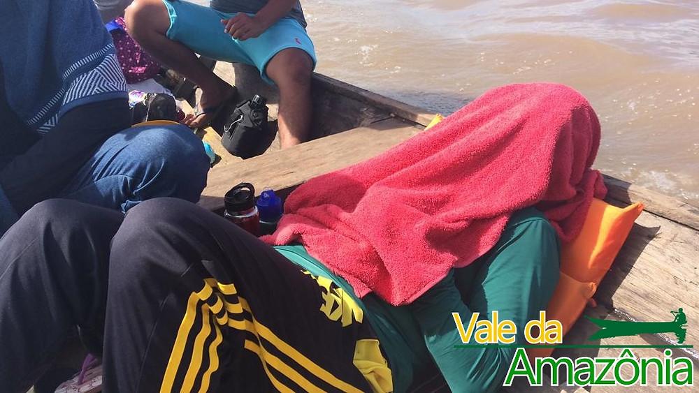 Viagem de canoa