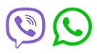 Viber and Whats App logo.png