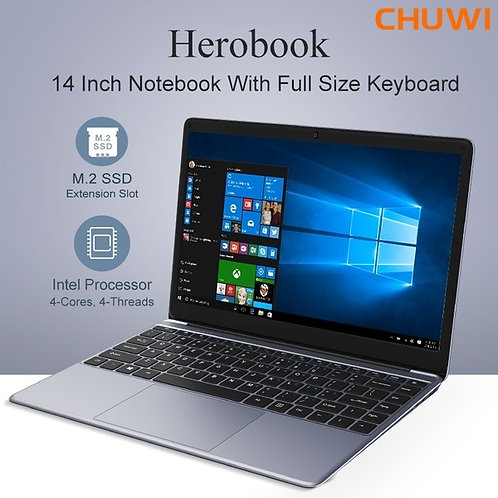 Chuwi HeroBook Laptop Windows 10 con ricarica rapida