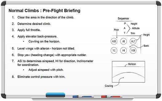 Pre-Flight Briefings Mockup Teach Brief