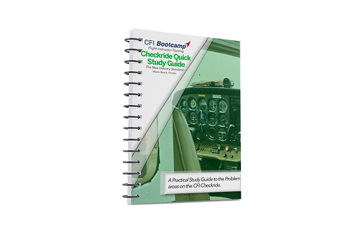 NEW | Checkride Quick Study Guide | Instant Download