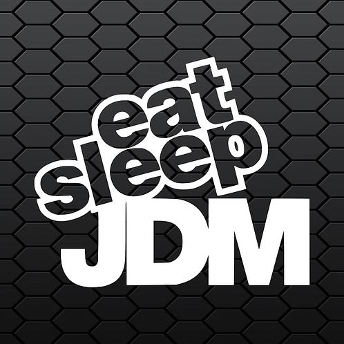 Eat Sleep JDM Sticker 2