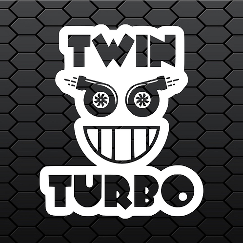 Twin Turbo Sticker