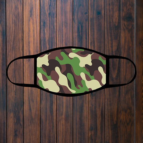 Camouflage Facemask - 1
