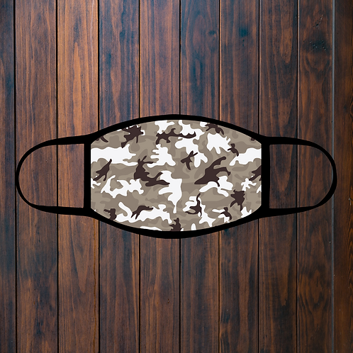 Camouflage Facemask - 12