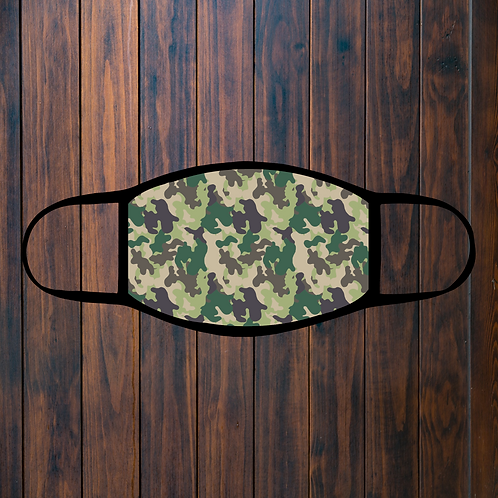 Camouflage Facemask - 3