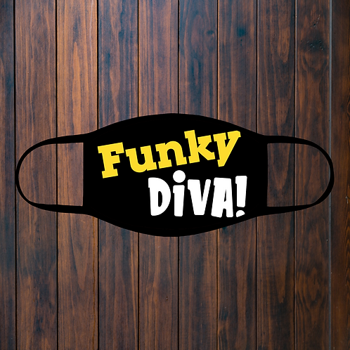 Funky Diva Facemask