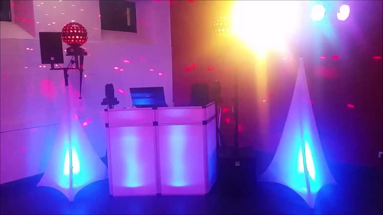 Aufbaubeispiel Hochzeit dj-balance.de