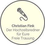 Christian Fink - Der Hochzeitsredner für