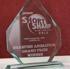 Gus Wins at the Janison Short Sharp Film Festival!