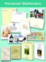 Personal stationery Writing Paper Correspondence Cards