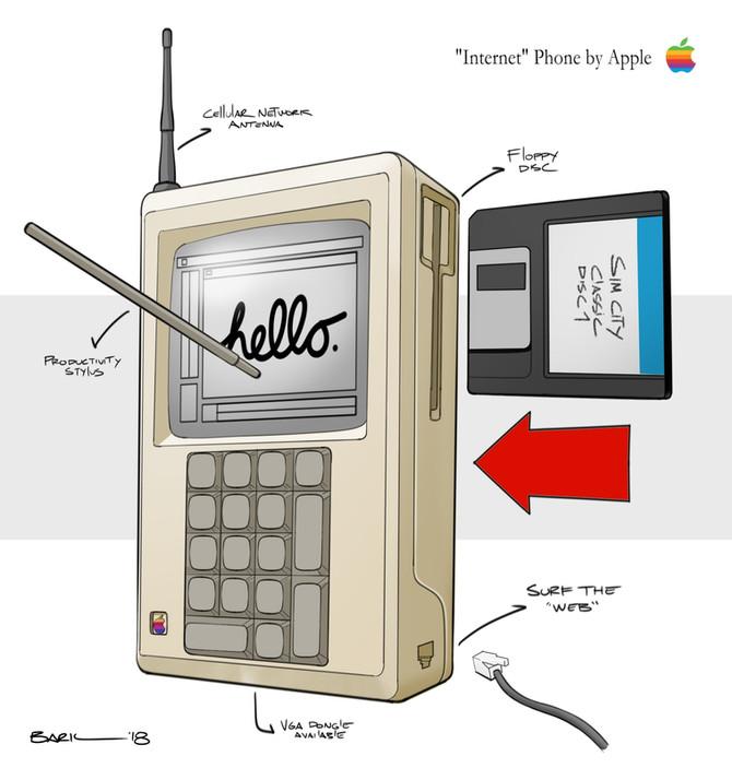 90's Apple iPhone