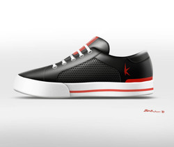 Leather Skate Shoe