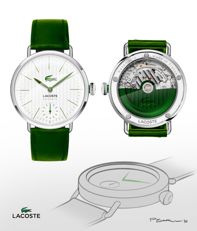 What if Lacoste made high end watches? Photoshop concept.