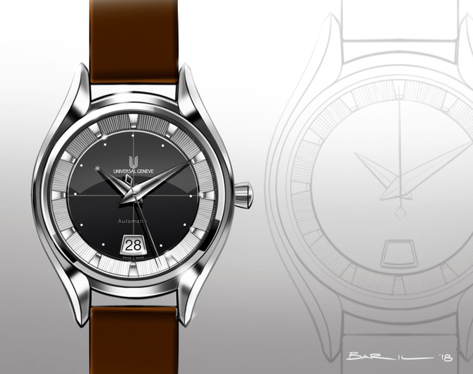 Universal Geneve Polerouter Date Redesign
