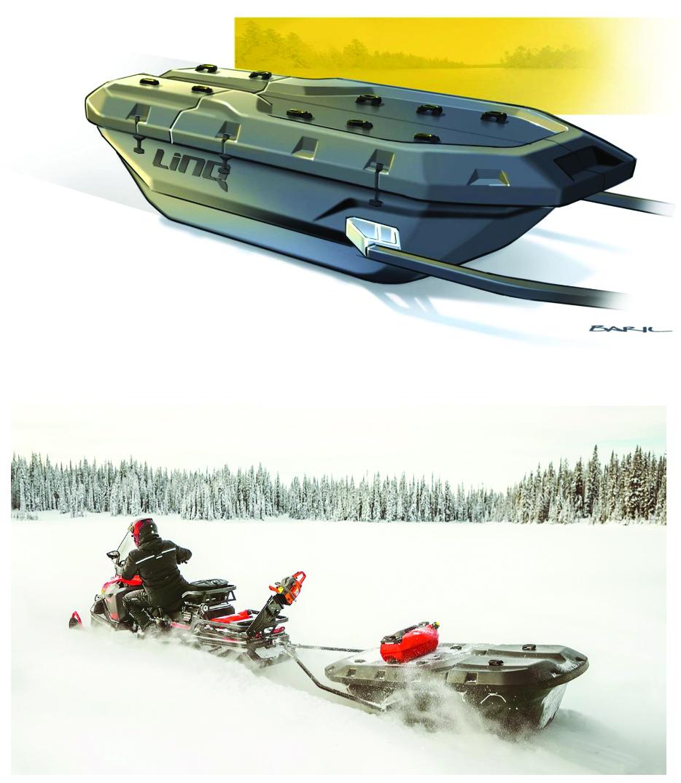 Ski-Doo Trailer Sleigh