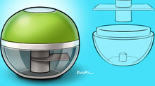 Design of a Garlic Chopper