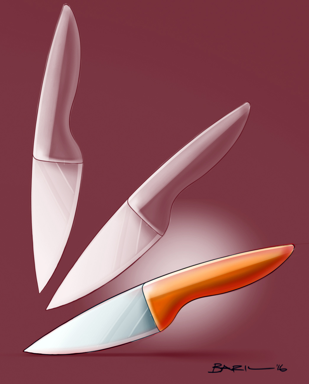 Contemporary Knife