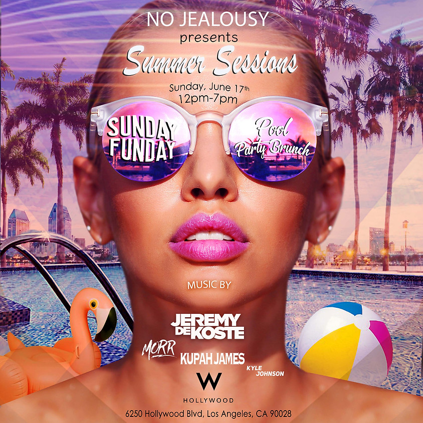 No Jealousy Summer Sessions 2018 - Pool Party Brunch